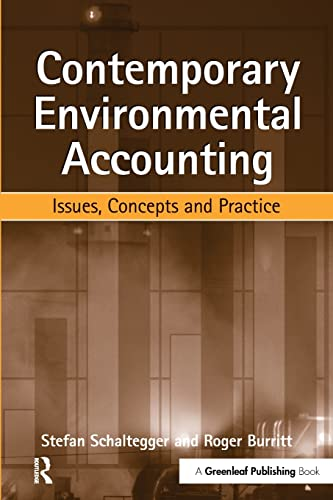 9781874719359: Contemporary Environmental Accounting: Issues, Concepts and Practice