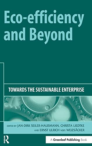 9781874719601: Eco-efficiency and Beyond: Towards the Sustainable Enterprise