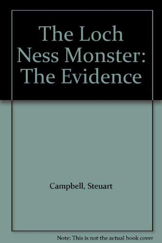9781874744610: The Loch Ness Monster: The Evidence