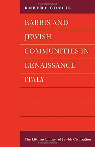 9781874774174: Rabbis and Jewish Communities in Renaissance Italy