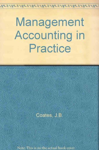 Management Accounting in Practice