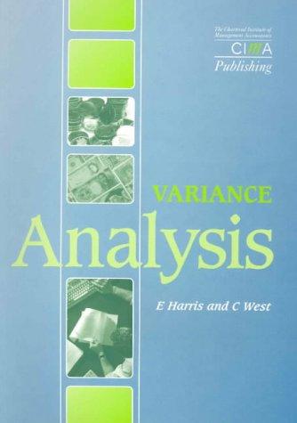 9781874784586: Variance Analysis (CIMA Exam Support Books)