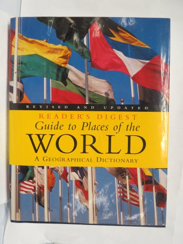 9781874912316: Guide to places of the world (Reader's Digest Guide to Places of the World)