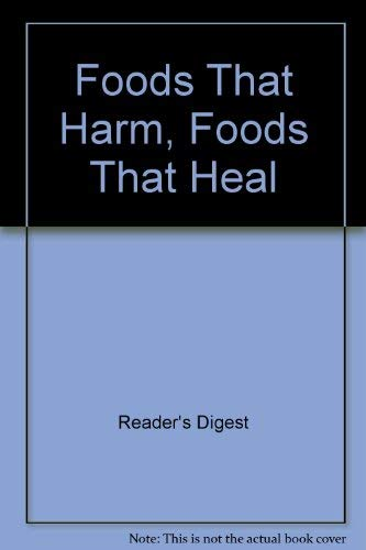 9781874912521: Foods That Harm, Foods That Heal