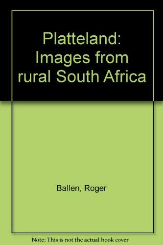 9781874959175: Platteland: Images from rural South Africa