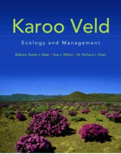 Karoo veld: Ecology and management (Paperback): Karen J. Esler, Sue Milton, W. Richard J. Dean