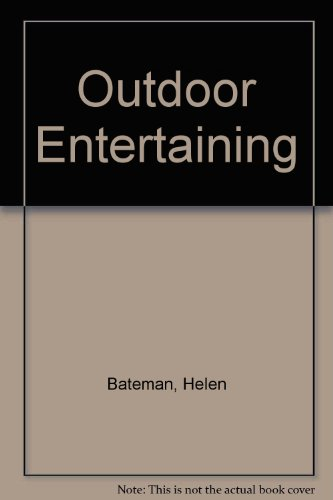 9781875137541: Outdoor Entertaining