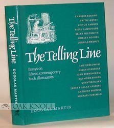 9781875249008: The Telling Line - Essays of Fifteen Contemporary Book Illustrators