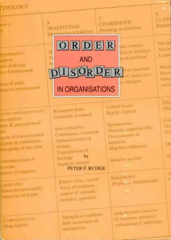 9781875383016: Order and Disorder in Organisations