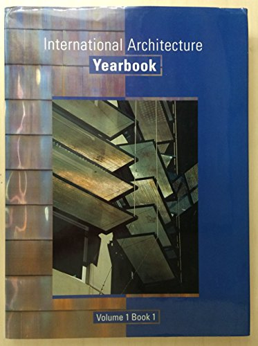 International Architecture Yearbook/Book 1: Image Publishing; Images Publishing