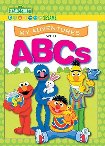 Identity Direct My Adventures With ABCs - Sesame Street - Big Size (Name Only) Measures 10.875 x 8 ...