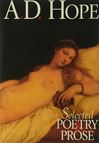 Selected poetry and prose (Halstead Classics) (9781875684403) by Hope, A. D