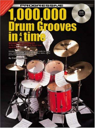 9781875726097: 1,000,000 Drum Grooves Bk/CD: From Beginner to Advanced Student: CD Pack (Progressive)