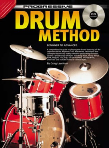 CP72618 - Progressive Drum Method: Craig Lauritsen