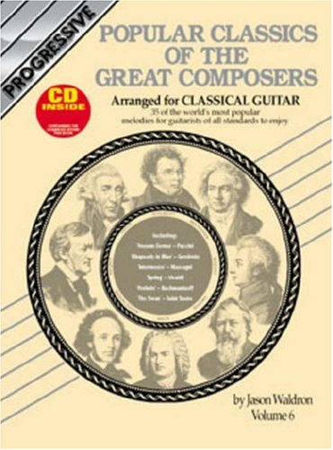 Popular Classics of the Great Composers Arranged: Waldron, Jason