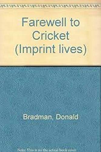 9781875892525: Farewell to Cricket (Imprint lives)