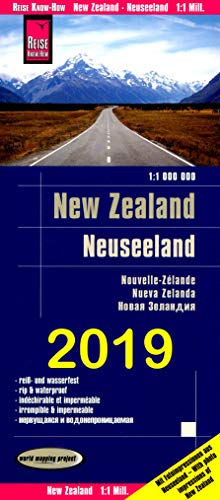 9781875992119: New Zealand Map