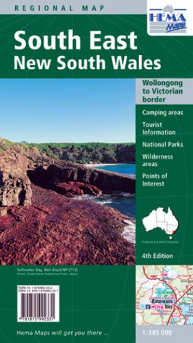 9781875992331: New South Wales, South East (Regional Maps)