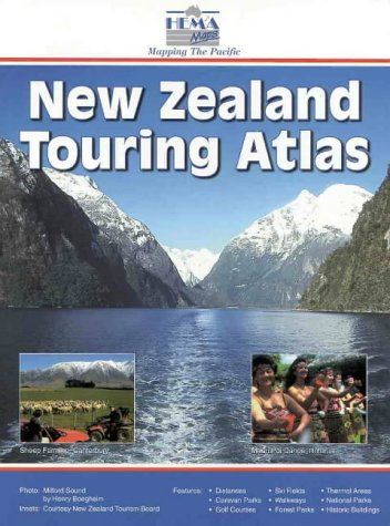 New Zealand Road Atlas (Touring Map): New Zealand Automobile