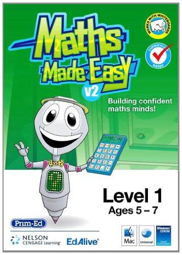 9781876052300: Maths Made Easy CD-Rom Series: Level 1