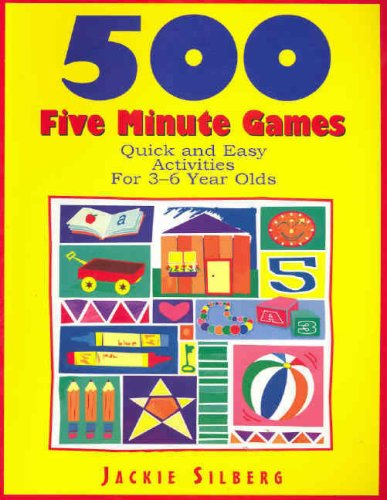9781876138066: 500 Five Minute Games: Quick and Easy Activities for 3-6 Year Olds