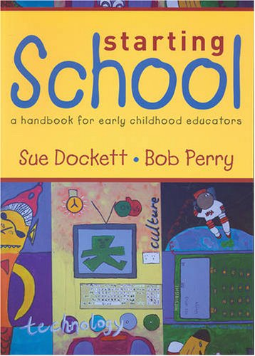 9781876138240: Starting School: A Handbook for Early Childhood Educators