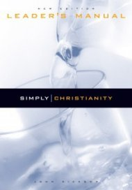9781876326555: Simply Christianity (Leader's Manual)