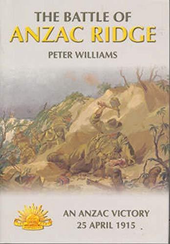 9781876439958: The Battle of Anzac Ridge