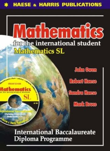 9781876543037: Mathematics for the International Student - Standard Level: International Baccalaureate Diploma