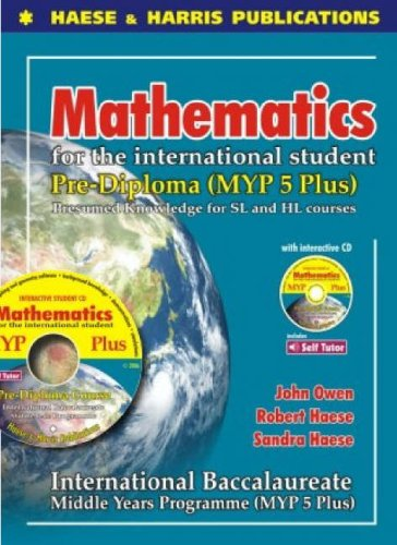 9781876543044: Mathematics for the International Student: Pre-Diploma MYP5 Plus International Baccalaureate (IB Middle Years)