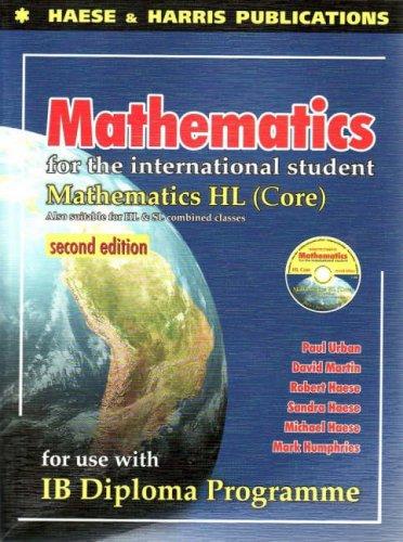 Mathematics for the International Student: IB Diploma: Urban, Paul; Martin,