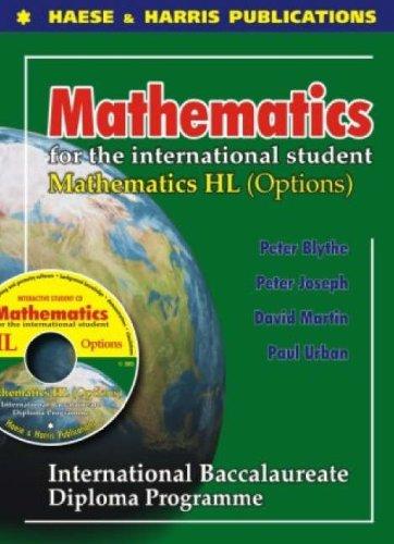 Mathematics HL Options for International Baccalaureate: Peter Blythe; Paul