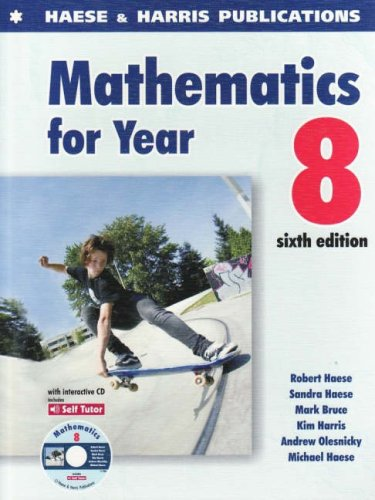 9781876543402: Mathematics for Year 8 (Middle Years: Standard)
