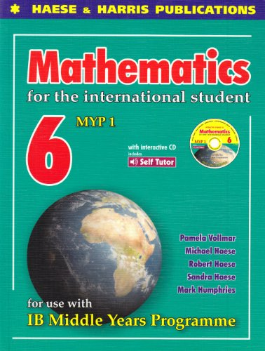 9781876543471: Mathematics for International Student: IB MYP-6