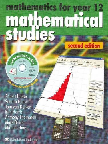 9781876543587: Mathematical Studies: Mathematical Studies for Year 12 (South Australia Series)