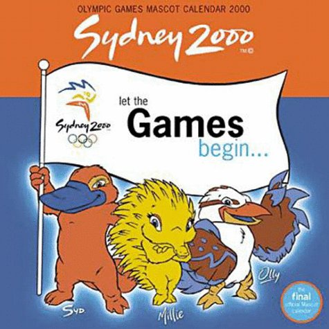 9781876551377: Olympic Games Mascots Wall Calendar: 2000
