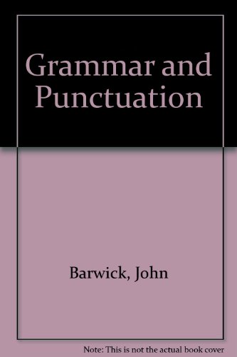 9781876580261: Grammar and Punctuation
