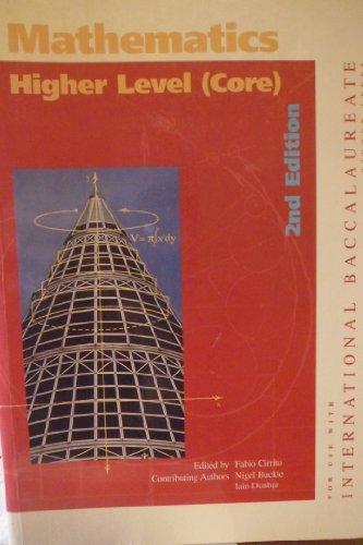 Mathematics Higher Level(Core): Buckle, Nigel; Dunbar,