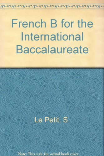9781876659769: French B for the International Baccalaureate