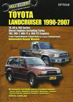 Toyota Landcruiser 1990-2007 Automobile Repair Manual: Diesel: Max Ellery