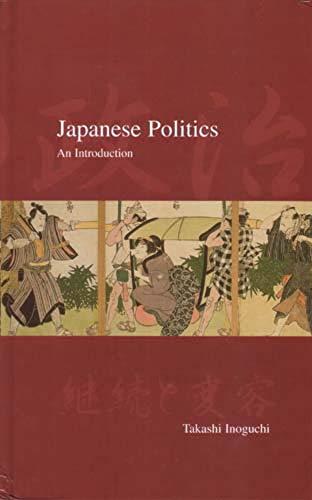 9781876843212: Japanese Politics: An Introduction (Japanese Society)
