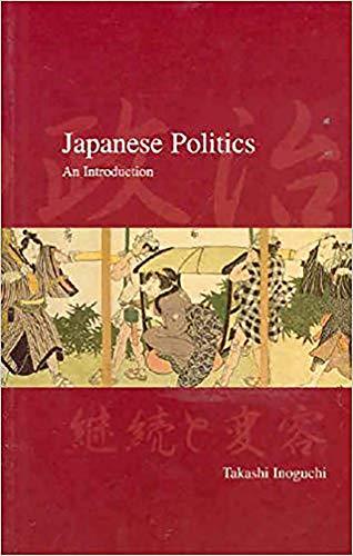 9781876843229: Japanese Politics: An Introduction (Japanese Society)