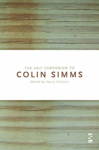9781876857776: The Salt Companion to Colin Simms (Salt Companions to Poetry)