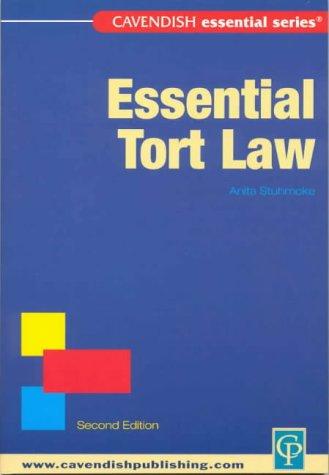 9781876905040: Essential Tort Law (Essential)