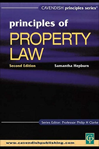 9781876905088: Principles of Property Law 2nd edition