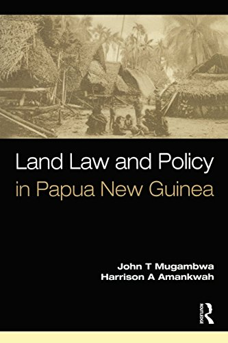 9781876905149: Land Law and Policy in Papua New Guinea