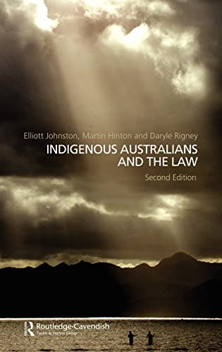 9781876905392: Indigenous Australians and the Law