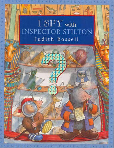 9781877003295: I Spy with Inspector Stilton: Little Hare Books