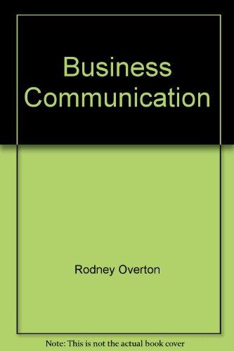 9781877056468: Business Communication
