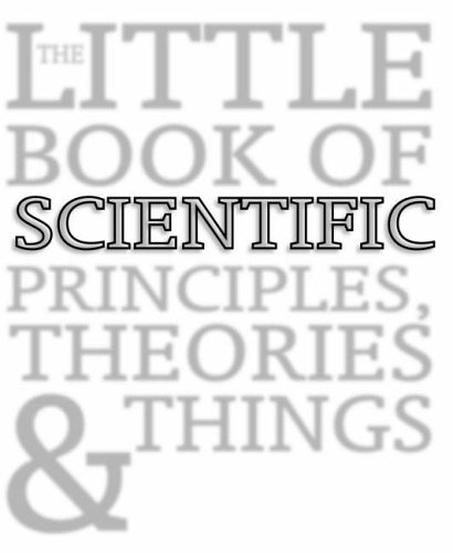 9781877069208: The Little Book of Scientific Principles, Theories and Things